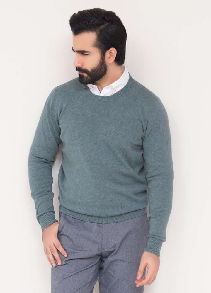 Sea-Green-Crew-Neck-Sweater1